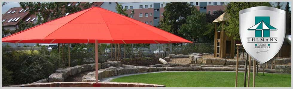 Giant Commercial Umbrellas; Giant Patio Umbrellas; Uhlmann Giant Umbrellas; Giant  Umbrellas By Uhlmann ...