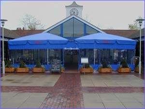 Giant Umbrellas - Commercial Umbrellas - Side Panels