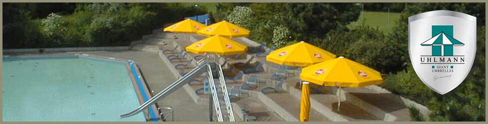 Large Patio Umbrellas - Municipal