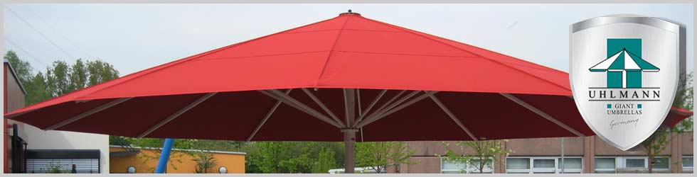 Giant Umbrellas With Stylish Canopies